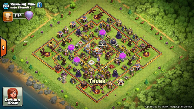 base coc th 11 terkuat
