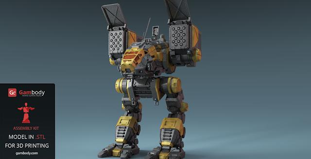 mech warrior catapult battletech