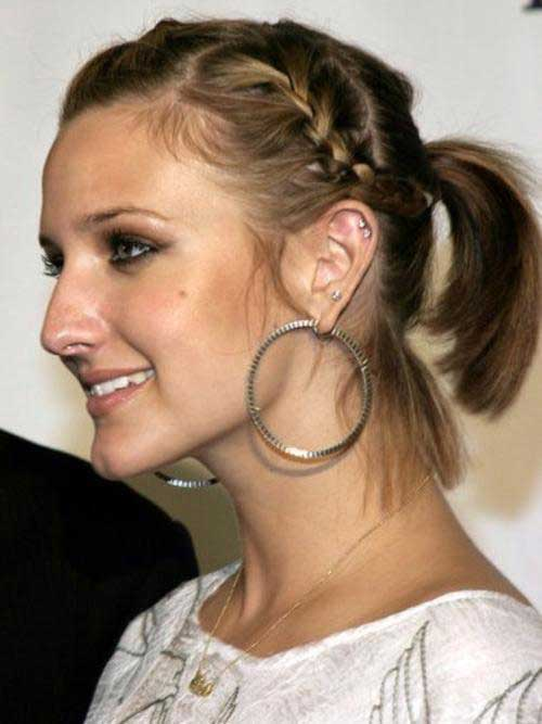 10 Gorgeous Ponytails For Short Hair 1