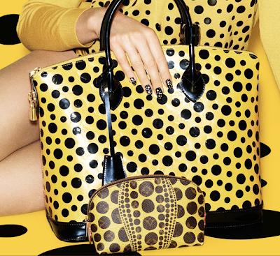 Yayoi Kusama x Louis Vuitton Lockit and Cosmetic Case