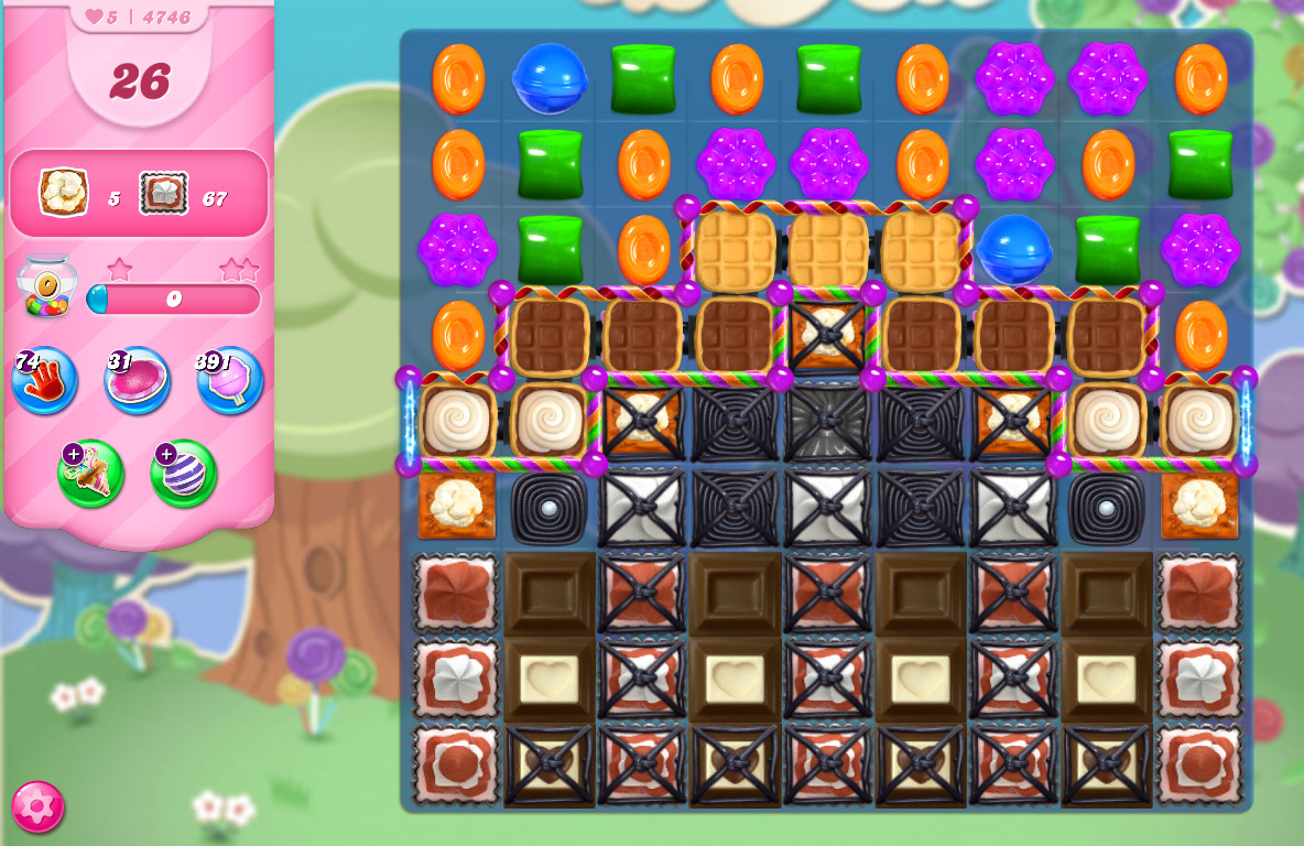 Candy Crush Saga level 4746