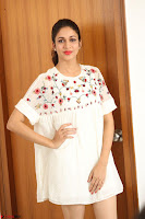 Lavanya Tripathi in Summer Style Spicy Short White Dress at her Interview  Exclusive 204.JPG
