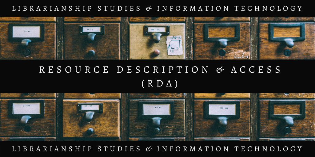 Resource Description and Access (RDA) Alternatives