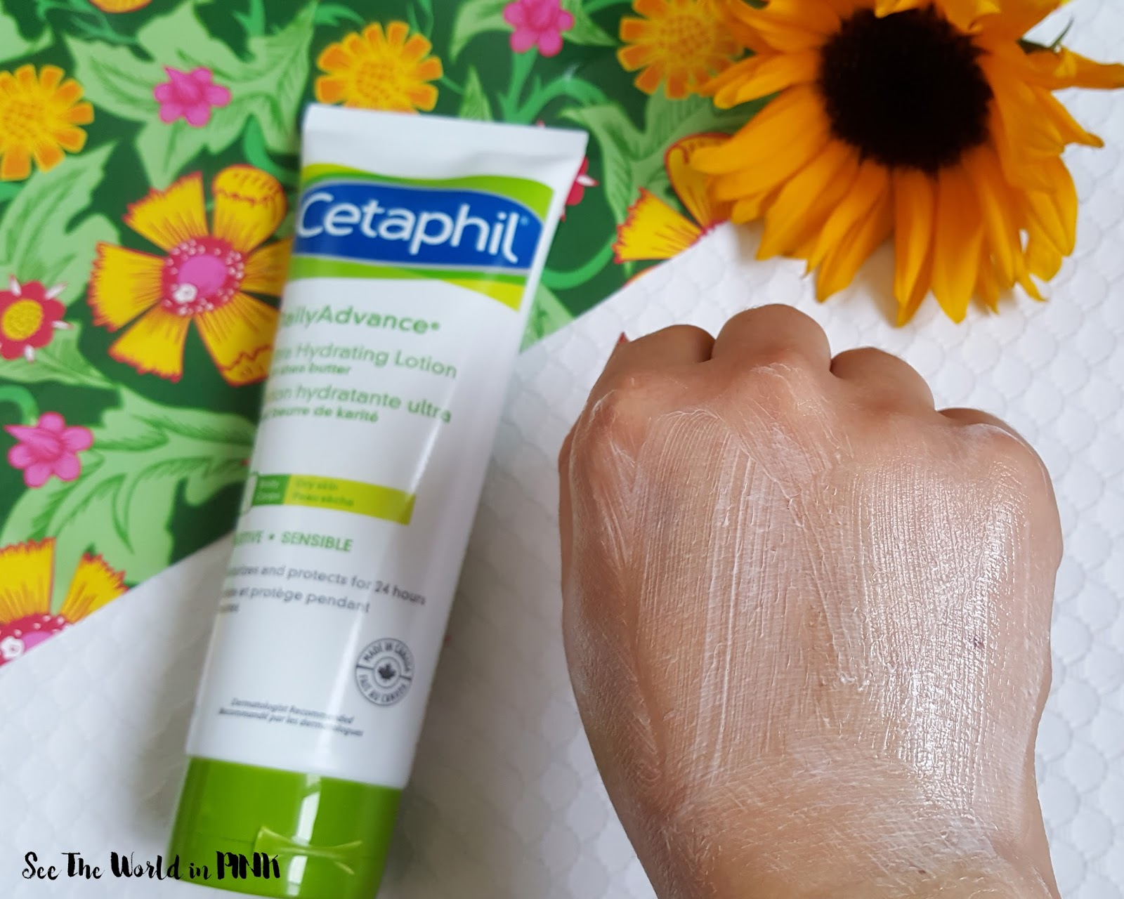Skincare Sunday - Cetaphil Cleanser and Lotion Review + GIVEAWAY!