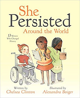 Cover for She Persisted Around the World by Chelsea Clinton