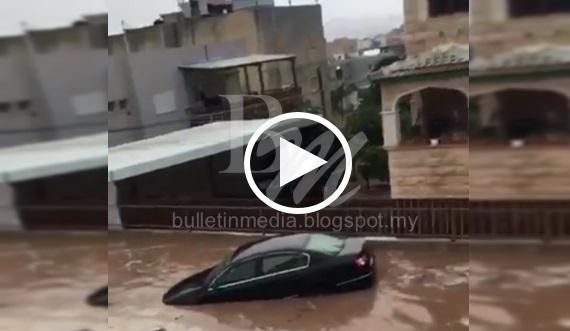 [VIDEO] Selepas Bencana Kebakaran, Israel Kini Dilanda BANJIR BESAR Pula !
