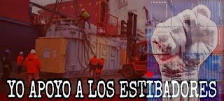 Resultado de imagen de Estibadores de Algeciras en lucha.