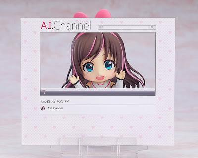 """Nendoroid de Kizuna AI de """"A.I. Channel"""" - Good Smile Company"""