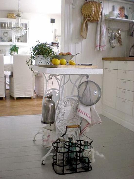 ilha na cozinha, maquina de costura, sewing machine, base máquina costura, upcycling, reciclagem, faça você mesmo, diy, a casa eh sua, acasaehsua