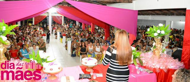 Prefeitura de Anapurus realiza grande festa em comemoração ao Dia das Mães!