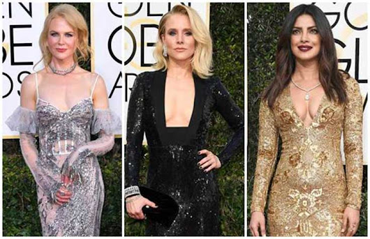 Selebriti Hollywood Paling Seksi Di Golden Globe 2017