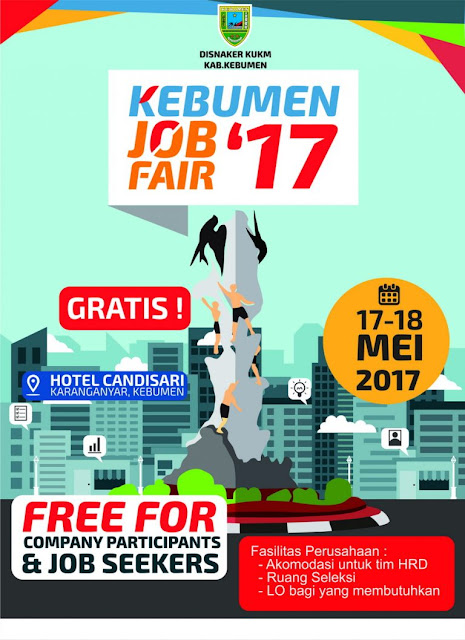 Job Fair Kebumen 17-18 Mei 2017