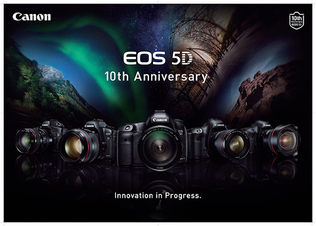 Canon EOS 5D series celebrates 10 year anniversary