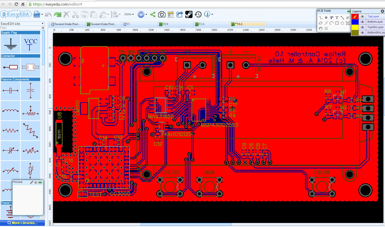 Circuit Simulator 2016 Electronic Diagram Software Draw Schematics Quickly Using The Available Libraries On Browser Seamless Automatic Upgrades