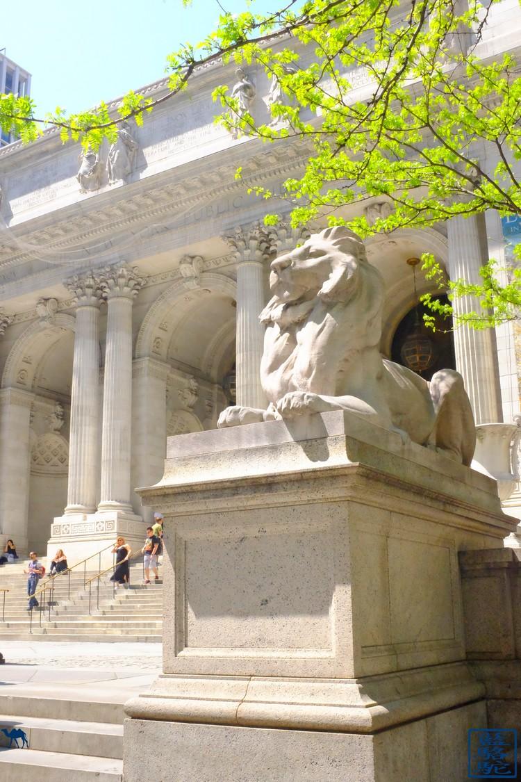 Le Chameau Bleu - Blog Voyage New York City Bibliothèque De New York