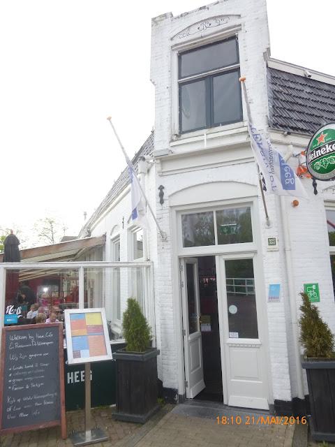 das Restaurant De Watersport in Heeg