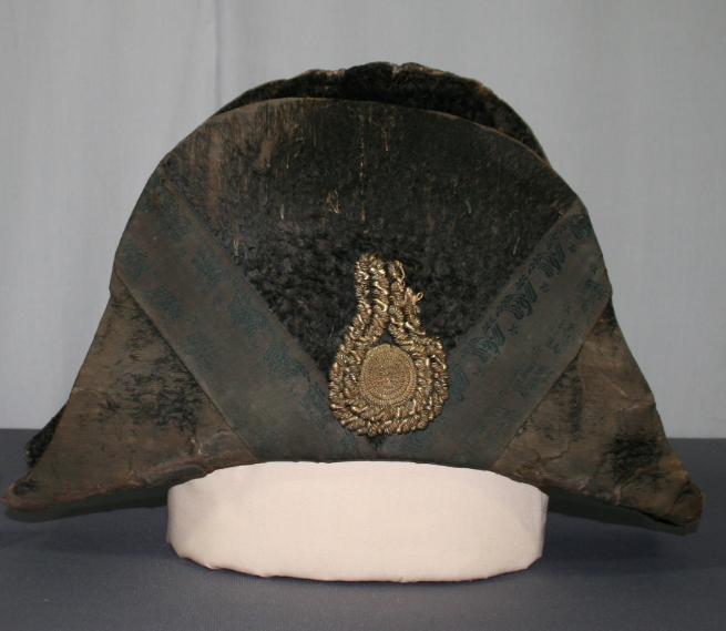 War of 1812, Chapeau, art conservation, repair, dating of artifacts and antiques
