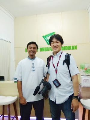 Jurnalis Jepang Apresiasi Kerapihan Asrama SMART