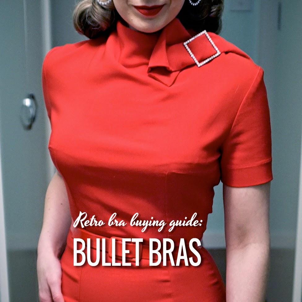 3058e5909a Forbidden Charm  The retro bra buying guide  Bullet bras