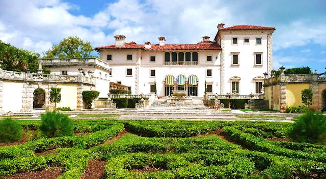 Jardins e Museu Vizcaya em Miami