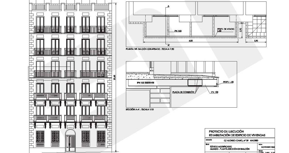 Em arquitectos consolidaci n de forjado y reparaci n de - Forjado viguetas metalicas ...