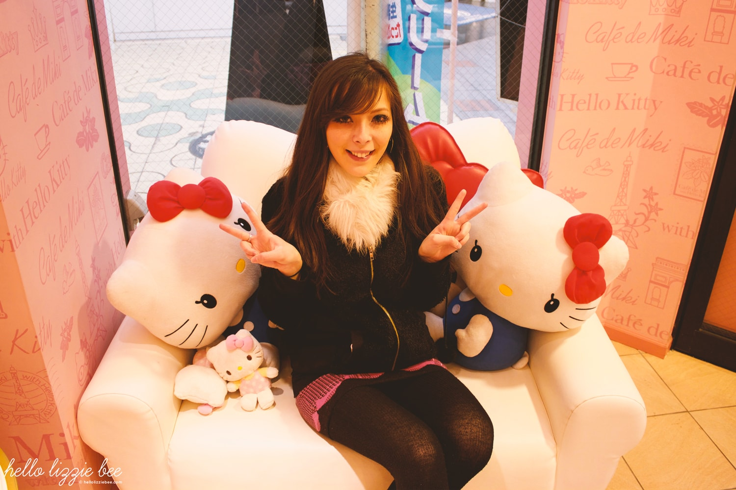 sanrio, hello kitty cafe