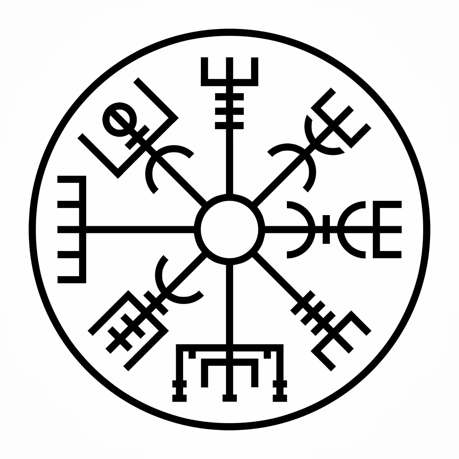 Vegvisir Meaning: The Slippery Spirit: Travel Well