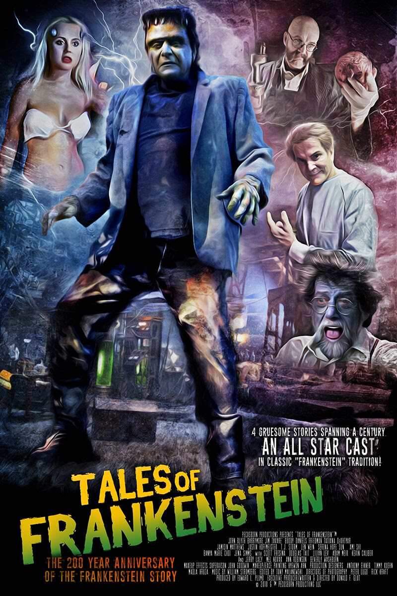 TALES OF FRANKENSTEIN poster