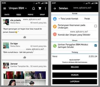 BBM Black Limited V2.13.1.14 Apk Terbaru