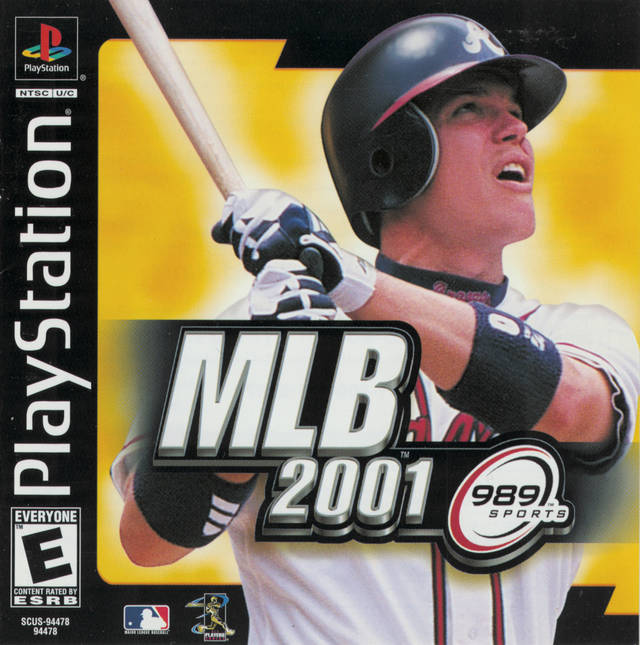 MLB 2001 - PS1 - ISOs Download