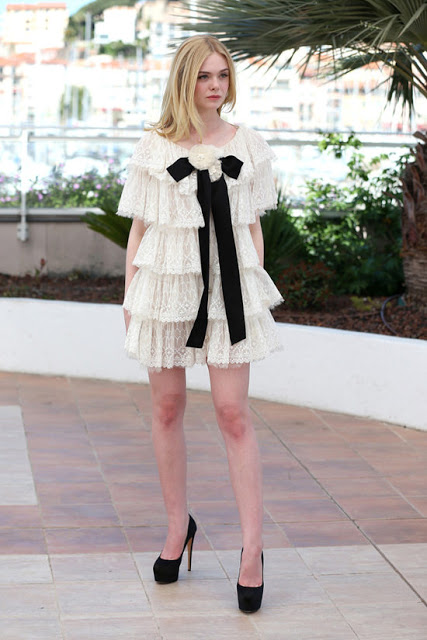 Elle Fanning Cannes Film Festival 2016 Red Carpet in Chanel Couture  | Cool Chic Style Fashion