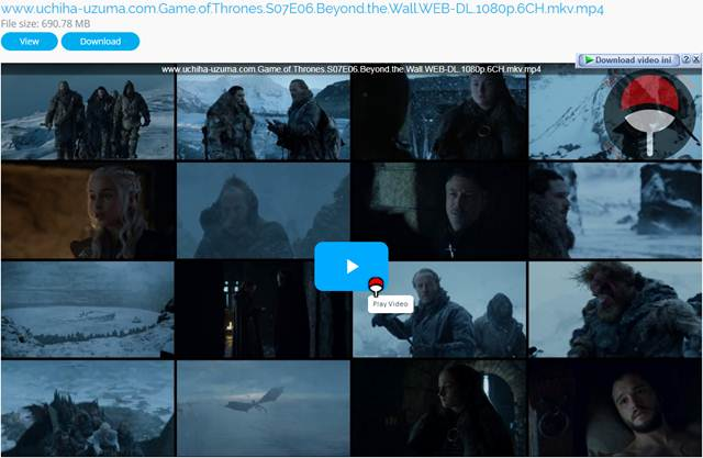 Screenshots www.uchiha-uzuma.com.Game.of.Thrones.S07E06.Beyond.the.Wall.WEB-DL.1080p.6CH.mkv