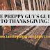 The Preppy Guy's Thanksgiving Outfit Guide