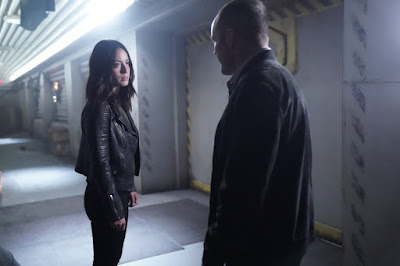Daisy and Coulson Agents of SHIELD