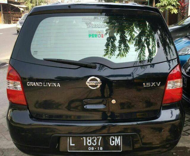 Nissan Grand Livina 1.5 XV tahun 2008