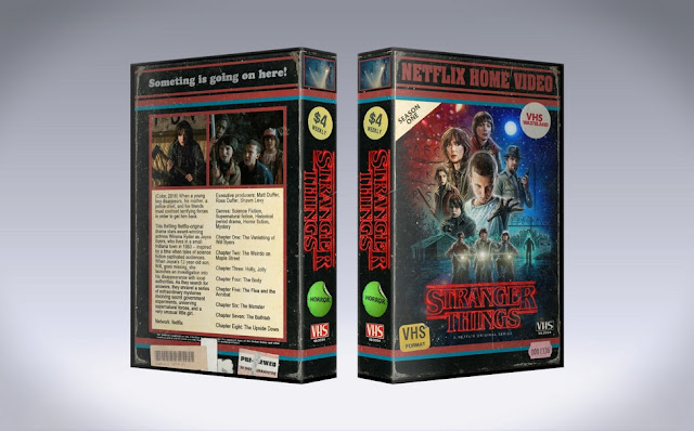 Capa Stranger Things VHS