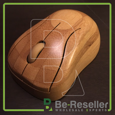 Ratón de madera. Be-reseller