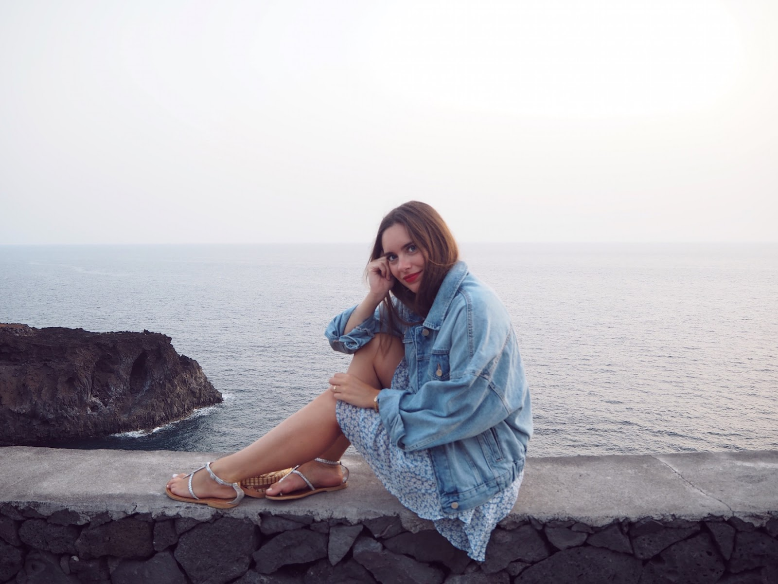 blogueuse mode veste en jean