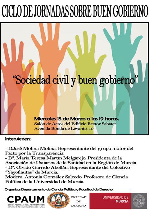 Jornada: Sociedad Civil y Buen Gobierno.