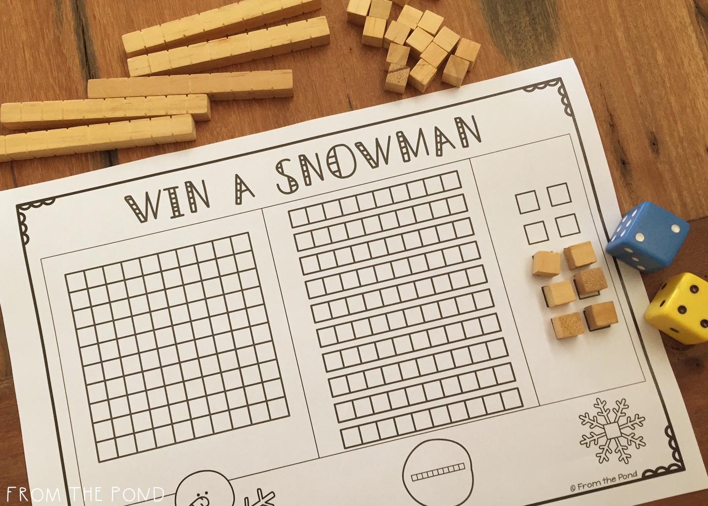 Win A Snowman Freebie