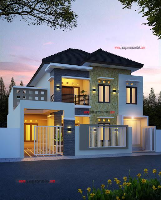 Desain Rumah 2 Lantai Dwg  download gambar rumah 2 lantai layanan jasa gambar arsitek