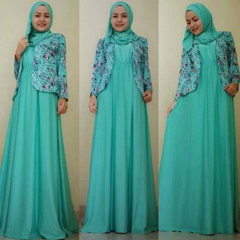 Baju gamis jodha terbaru hijab nemo Baju gamis model india 2015