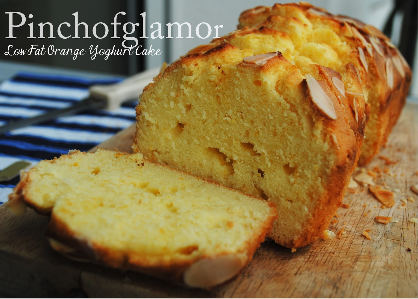Low Fat Yogurt Cake Recipes: Pinchofglamor: Low Fat Orange Yoghurt Cake