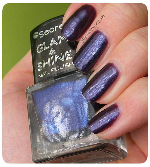 My Secret Glam&Shine 260 purple sparkle