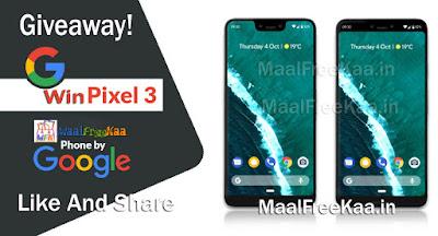 Google Pixel 3 Free