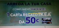 Logo Vinto uno dei buoni IKEA da 50 euro con ''Airwick arreda la tua casa''
