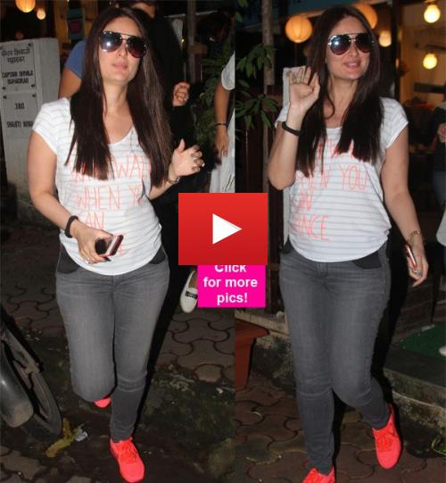 Kareena Kapoor Faults her Baby Bump