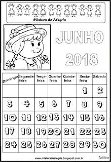 Calendário festa junina