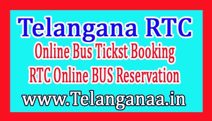 TSRTC Online Tickst Booking / Telangana RTC Online Booking