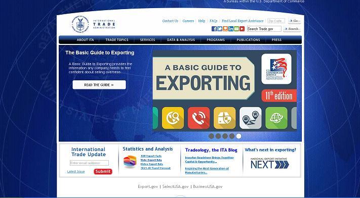 ABD'de Dış Ticaret İle İlgili En Önemli Devlet Sitelerinden birisidir.